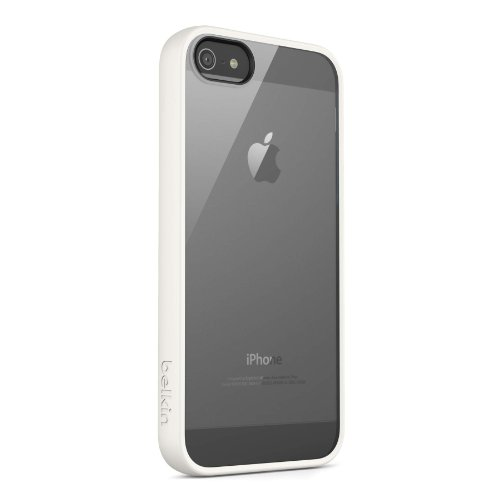 Belkin View Case / Cover for iPhone 5 and 5S (White)