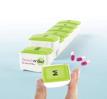Detach N' Go Single Daily Pill Box