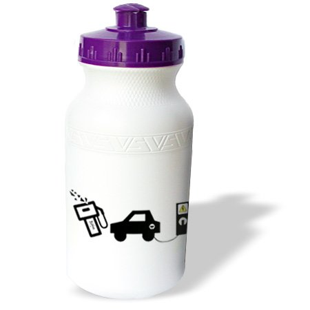 Wb_15916_1 R Mcdowell Graphics Auto Humor - Electric Murder - Water Bottles