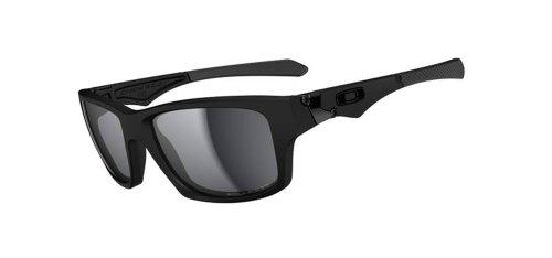 Oakley Mens Jupiter Polarized Square Sunglasses,Matte Black Frame/Black Lens,One Size