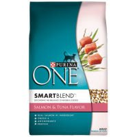 Purina One - Salmon & Tuna Flavor Adult Formula - 3.5Lb