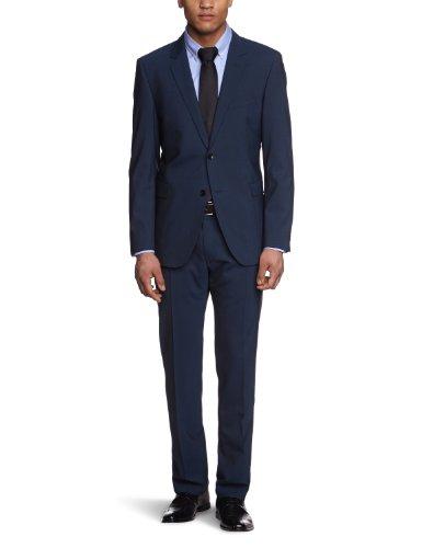 Strellson Premium Men's 11000701/Rick-James Two-Piece Suit Blue (133) 52