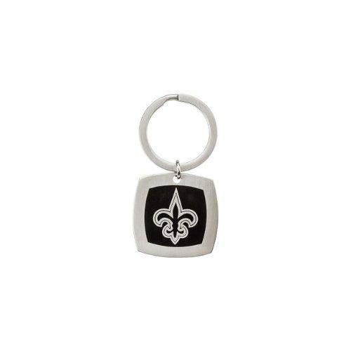 24608 St Steel 35mm New Orleans Saints Logo Keychain Football NFL Men Team Jewelry