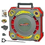 Beyblades Metal Masters Mobile Beystadium Carry Case with Exclusive Rock Zurafa Top