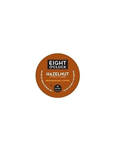 Eight O'Clock Coffee Hazelnut Blend K-Cups - 120 Count Box