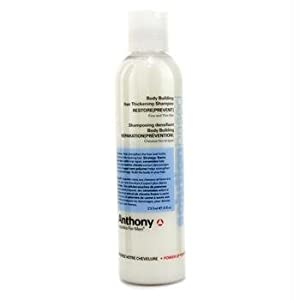 Anthony Logistics Body Building Hair Thickening Shampoo for Men, 8 Ounce from Anthony For Men, L.L.C.