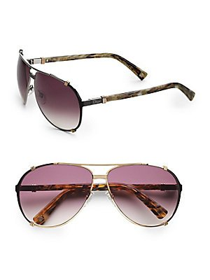 Christian Dior  Christian Dior Chicago 2/S Sunglasses Light Gold / Lilac Mirror Gradient