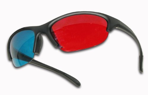 GEN X 3D Plastic Glasses Anaglyphic (Red/Cyan)