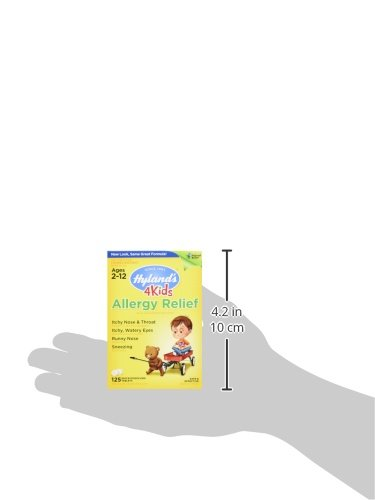 Hyland's Homeopathic Hyland's 4 Kids Natural Allergy Relief Tablets ...