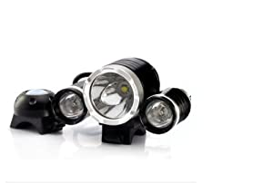 3000 Lumens Led Bicycle Headlight And Headlamp - 3x T6 Cree
