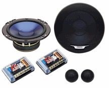 Clarion SRS 1653 - Car speaker - 2-way - component - 25mm, 160mm