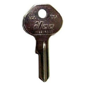 kaba ilco m20 1092 6000 ilco master padlock key blank quantity 10 door lock replacement. Black Bedroom Furniture Sets. Home Design Ideas