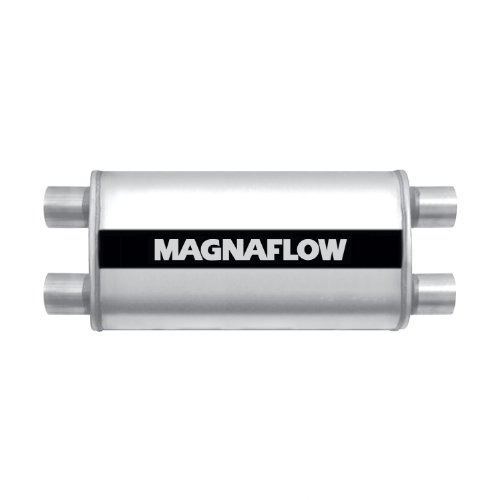 Flowmaster 12412409 HP-2 Inlet x 2.25 Outlet 409S Muffler with Aggressive Sound