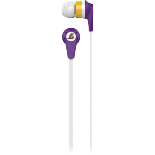Skullcandy L.A Lakers Ink'D 2.0 Nba Series Sports Collection Earphones/Earbuds Headphone - Purple / One Size