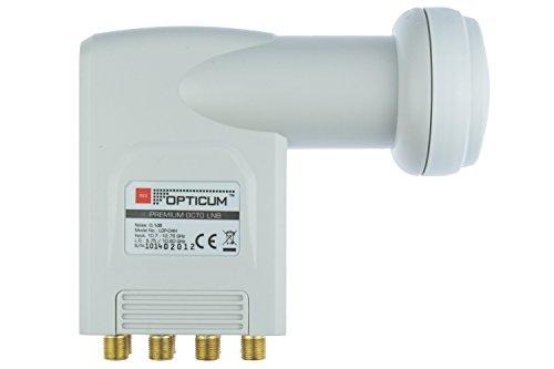 Opticum Octo LNB - LOP-04H - contacts plaqués (Full HD, 3D)