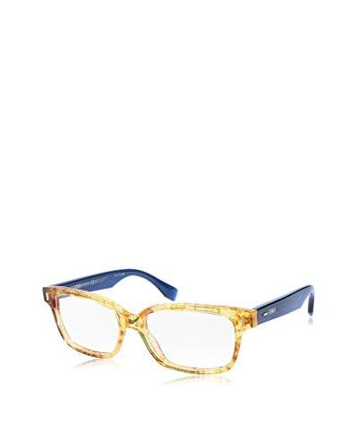 Fendi Montura Ff 0035 (53 mm) Azul / Oro