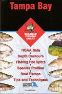 Tampa Bay Fishing Map (Florida Saltwater Series, FL0128)