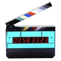Denecke Dcode TS-3EL Time Code Smart Slate with Backlight Display, Blinking LED Jam Indicator -With Color Clapper Sticks