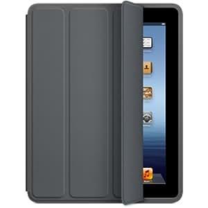 Generic Smart Case Polyurethane for iPad 2/3/4 (Dark Gray)