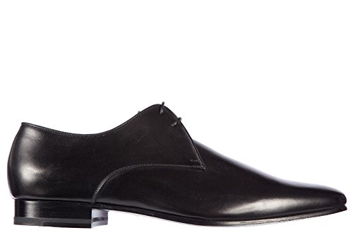 Saint Laurent Paris scarpe stringate classiche uomo in pelle nuove oxford boxer nero EU 43 315080 AQS00 1000
