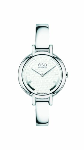 ESQ Movado Women's 07101391 esq Contempo tm Round Signature Dial Watch