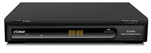Comag SL40 HD Satelliten Receiver (PVR-Ready, DVB-S2, SCART, HDMI, USB 2.0, inkl. HDMI Kabel) schwarz
