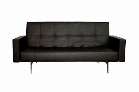 coaster-300143-coaster-convertible-sofa-sleeper-with-storage-in-plush-dark-brown-faux