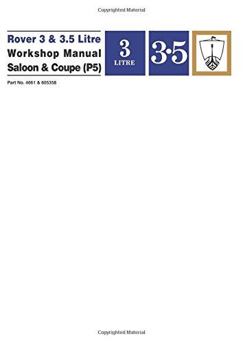 rover-3-35-litre-workshop-manual-saloon-coupe-p5-workshop-manual