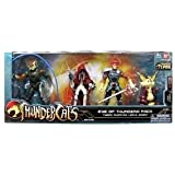 Bandai Thundercats 4 Inch Basic Action Figures Eye of Thundera 4Pack Tygra. LionO, MummRa Snarf
