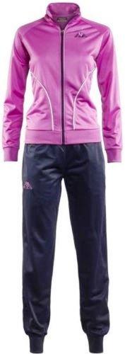 kappa-tuta-completo-felpa-donna-sport-tempo-libero-atletica-tennis-art-tader-colore-marine-violet-or