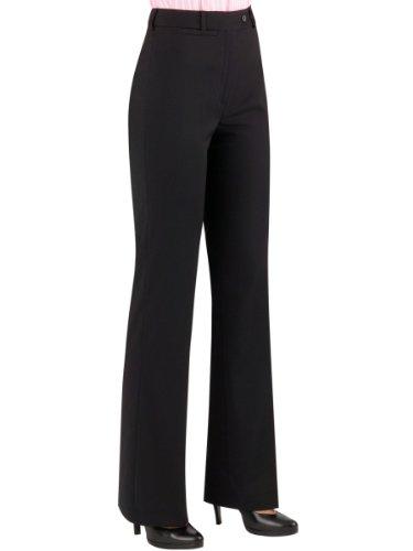 Brook Taverner Varese Suit Trouser in Black 22L