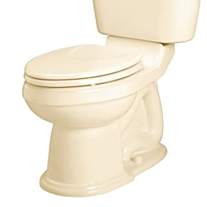 American Standard 3101.016.021 Oakmont Champion-4 Right Height Elongated Toilet Bowl, Bone, Seat Not Included