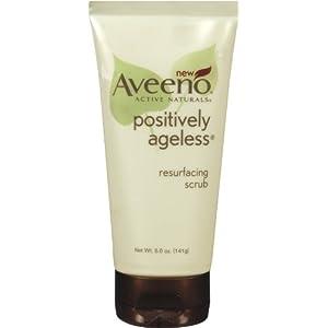 Aveeno Positively Ageless Resurfacing Scrub, 5 Ounce