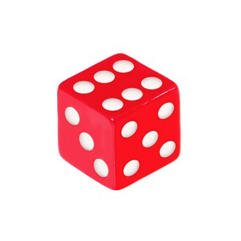 5mm Orange Red Dice Replacement Ball