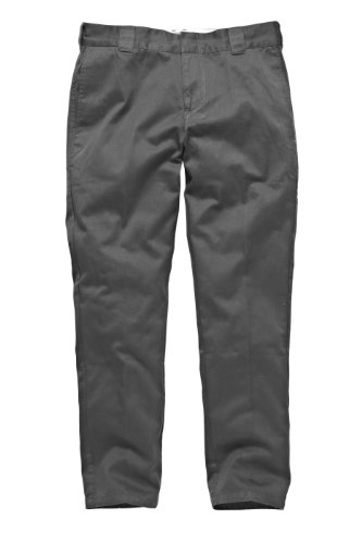Dickies - Streetwear Male Pants C 182 GD, Pantaloni sportivi Uomo, Grigio (charcoal grey), (Taglia Produttore: 31/34)