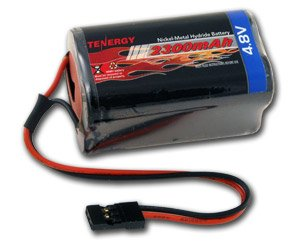 4.8V 2000mAh NiMH Square Receiver RX Battery for RC Airplanes