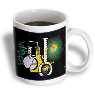 Mug_174445_2 Florene - Numbers Symbols N Sayings - Image Of E Equals Mc2 With Beakers - Mugs - 15Oz Mug