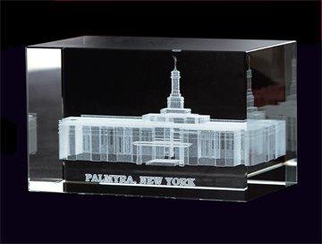 Palmyra Temple Crystal Cube