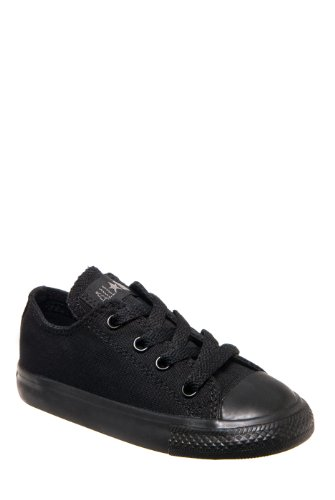 Converse Chuck Taylor All Star Core Low Infants/Toddlers - Black Monochrome - 3
