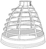 1856 Walking Cage Crinoline Pattern
