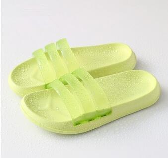 Ambientale insapore antiscivolo famiglia bagno doccia Slipper 2 paia , lemon yellow , 42/43