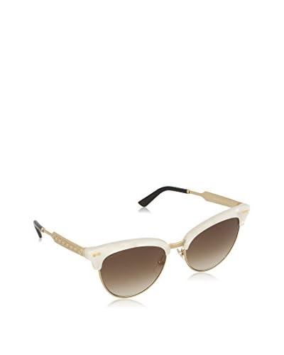 Gucci Occhiali da sole 4283/S JD (55 mm) Bianco/Dorato