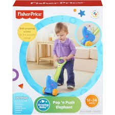 Fisher Price Pop N Push Elephant Reviews