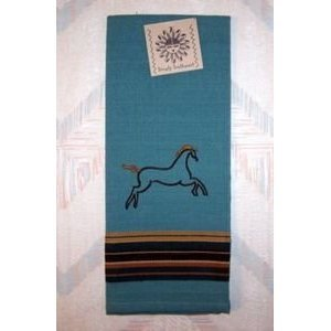 Kay dee designs embroidered sedona horse tea Kay dee designs kitchen towels