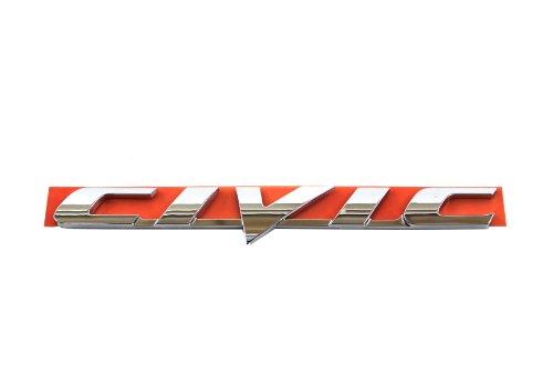 Genuine Honda Accessories 75722-SNA-A01 Trunk Civic Emblem (2008 Civic Emblem compare prices)