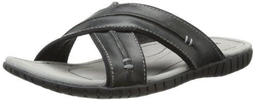 Sebago Men'S Becket Cross Dress Sandal,Black,12 M Us front-192882
