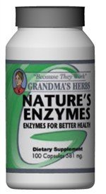 Nature'S Enzymes - All Natural Herbal Remedy To Boosts Your Metabolism - 100 Capsules