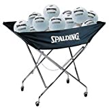 Spalding 62-749 Drill Cart Volleyball Cart (Call 1-800-234-2775 to order)