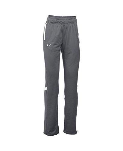 Under Armour Women's UA Qualifier Knit Warm-Up Pants XL Tall Graphite
