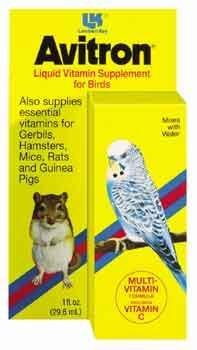 Image of Avitron Bird Vitamins 1oz (B004LO7M2K)